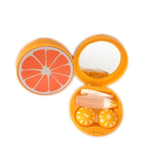 Load image into Gallery viewer, OH Fashion Contact Lens Case Fruits Orange - superfashionwholesaler
