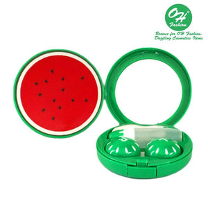 OH Fashion Contact Lens Case Fruits Watermelon - superfashionwholesaler
