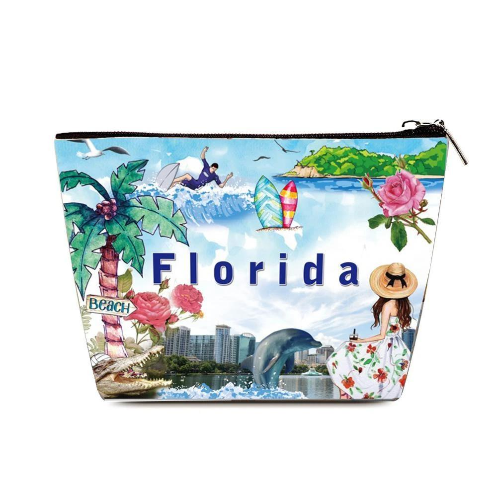 OH Fashion Cosmetic Bag Summer Florida - superfashionwholesaler