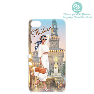 OH Fashion iPhone case PLUS 8/7/6S Elegant Milan - superfashionwholesaler