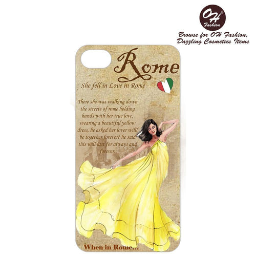 OH Fashion iPhone case 8/7/6S Fascinated in Rome - superfashionwholesaler