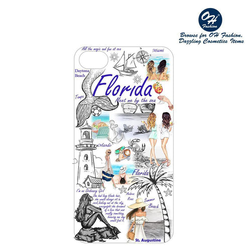 OH Fashion iPhone case PLUS 8/7/6S Florida Vibes - superfashionwholesaler