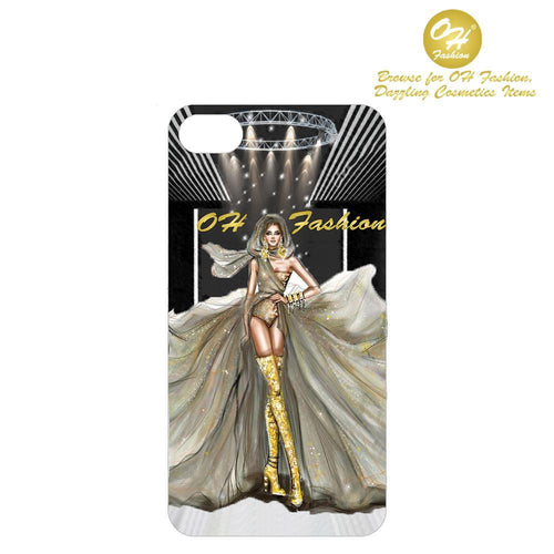OH Fashion iPhone case 8/7/6S Golden Beauty - superfashionwholesaler