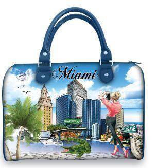 OH Fashion Handbag Satchel Capturing Miami - superfashionwholesaler