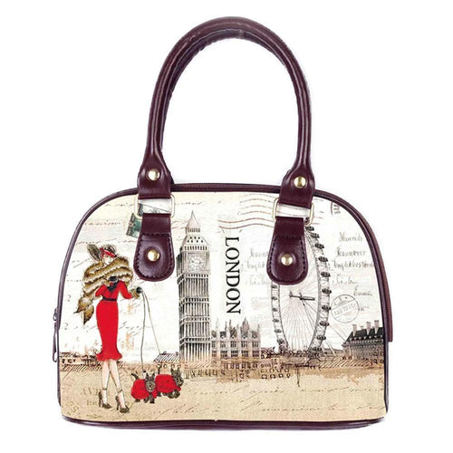 OH Fashion Handbag Shoulder Bag Fascinating London - superfashionwholesaler