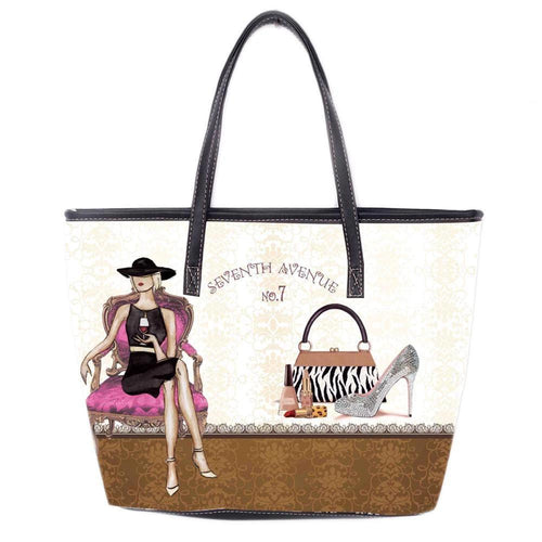 OH Fashion Handbag Tote Glamourous Ona - superfashionwholesaler