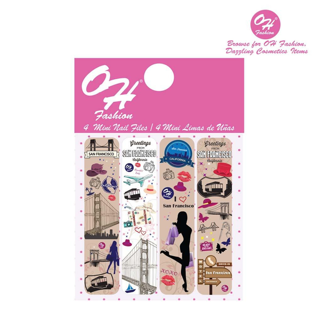OH Fashion Mini Nail Files Beautiful San Francisco - superfashionwholesaler