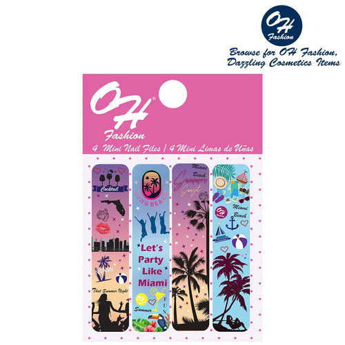 OH Fashion Mini Nail Files Miami Beach - superfashionwholesaler