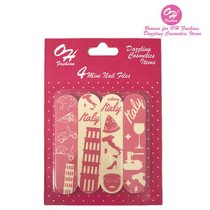 OH Fashion Mini Nail Files Rome - superfashionwholesaler
