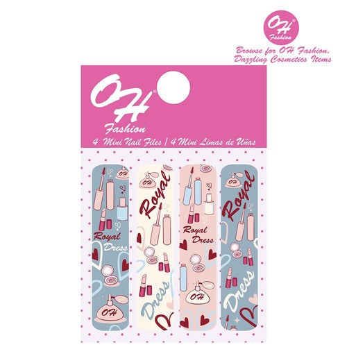OH Fashion Mini Nail Files Royal Dress - superfashionwholesaler