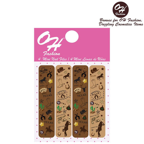 OH Fashion Mini Nail Files The Beauty of Texas - superfashionwholesaler