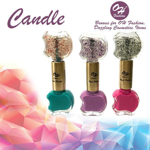 OH Fashion Nail Polish Double Apple SET CANDLE - superfashionwholesaler