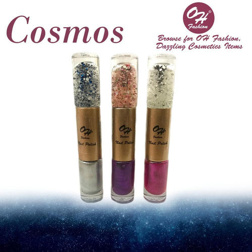 OH Fashion Nail Polish Cylinder SET COSMOS - superfashionwholesaler