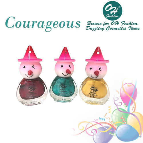 OH Fashion Nail Polish Clown SET COURAGEOUS - superfashionwholesaler