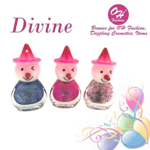 OH Fashion Nail Polish Clown SET DIVINE - superfashionwholesaler