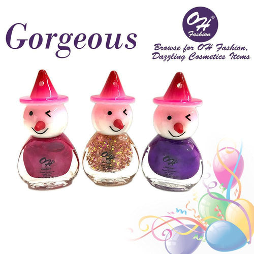OH Fashion Nail Polish Clown SET GORGEOUS - superfashionwholesaler