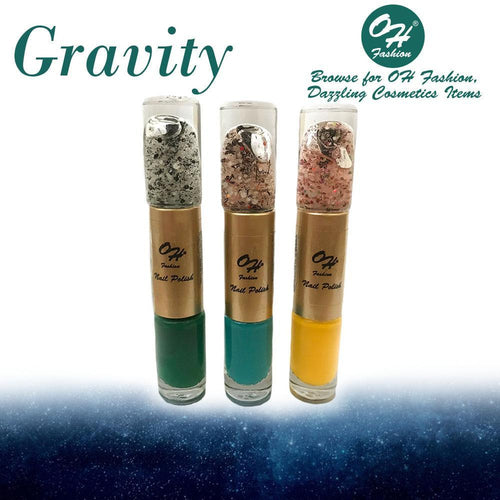 OH Fashion Nail Polish Cylinder SET GRAVITY - superfashionwholesaler