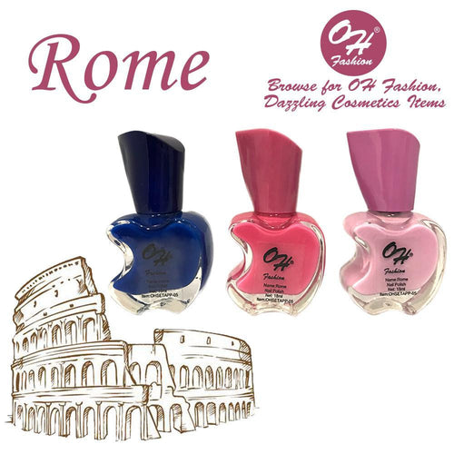 OH Fashion Nail Polish Apple Bite SET ROME - superfashionwholesaler