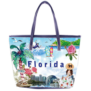 OH Fashion Handbag Tote Summer Florida