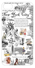 Load image into Gallery viewer, OH Fashion iPhone case 8/7/6S Unforgettable New York - superfashionwholesaler