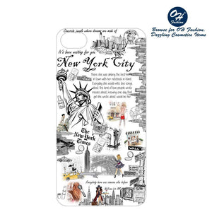 OH Fashion iPhone case 8/7/6S Unforgettable New York - superfashionwholesaler
