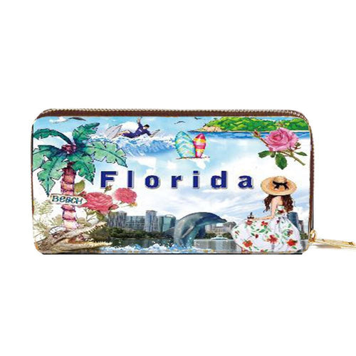 OH Fashion Wallet Summer Florida - superfashionwholesaler