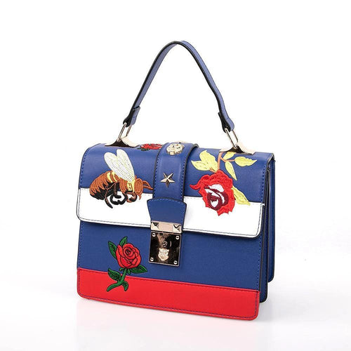 OH Fashion Handbag Edgy in Blue - superfashionwholesaler