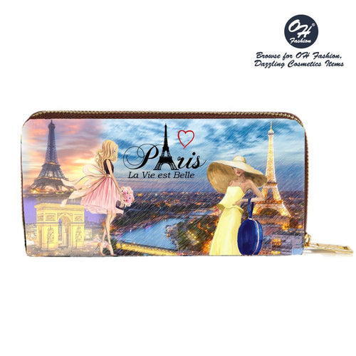 OH Fashion Wallet Romance in Paris - superfashionwholesaler