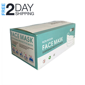 Superpharma Face Mask Disposable Earloop Mask Pack 50 PCS