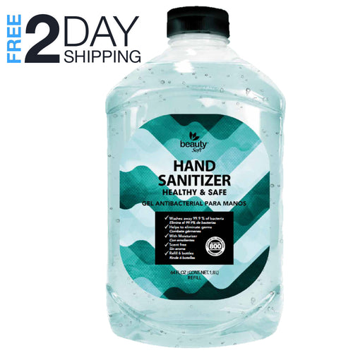 Hand Sanitizer Half a Gallon (64 oz) not methanol - Made in a FDA registrate facility