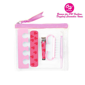 OH Fashion Manicure set Transparent - superfashionwholesaler