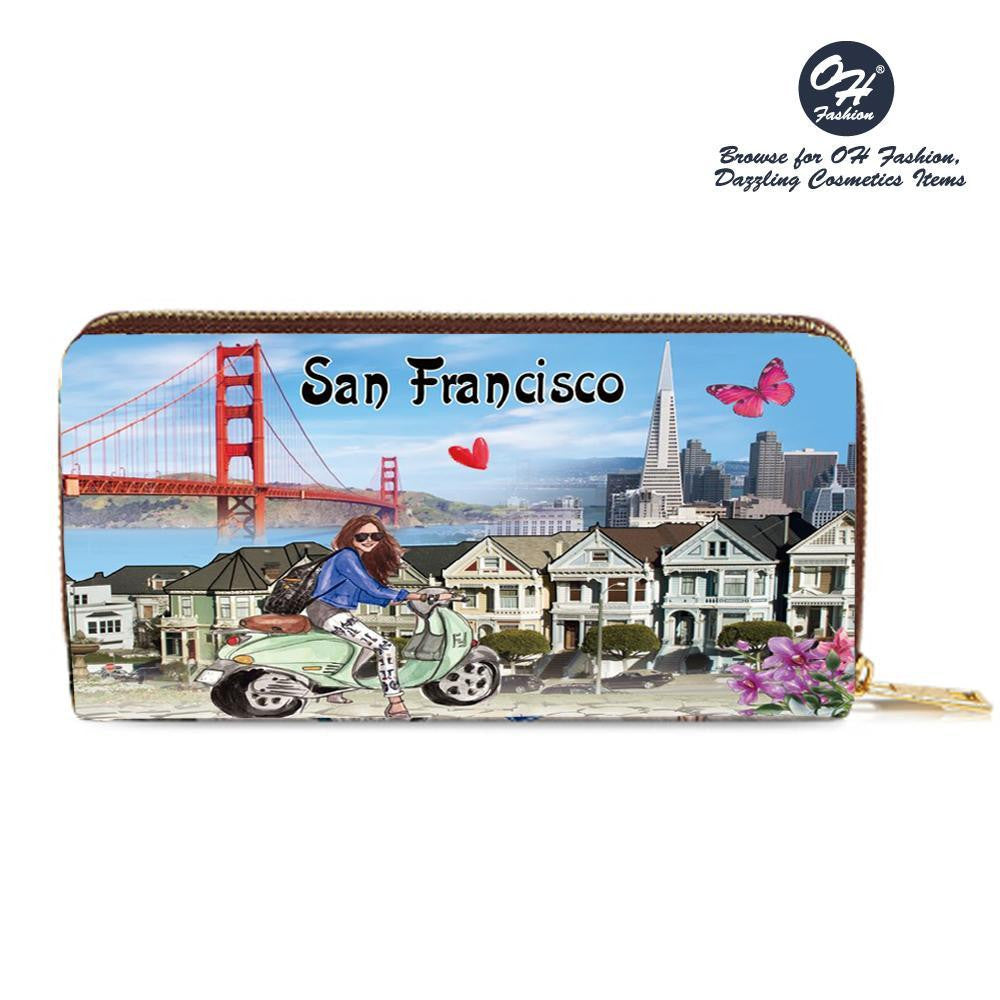 OH Fashion Wallet Discover San Francisco - superfashionwholesaler