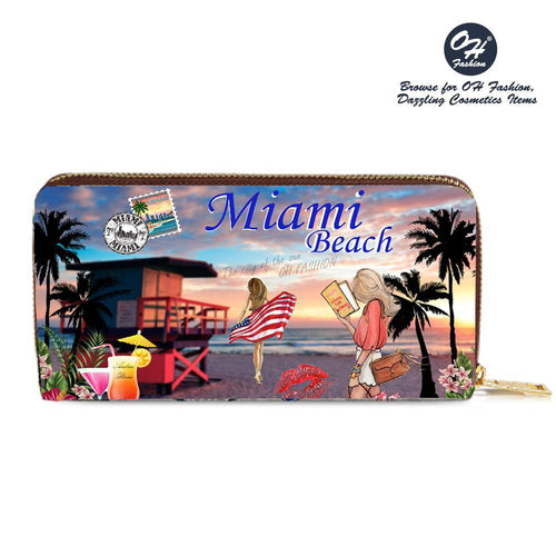 OH Fashion Wallet Miami Beach - superfashionwholesaler