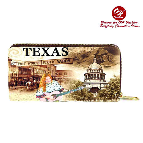 OH Fashion Wallet The Beauty of Texas - superfashionwholesaler