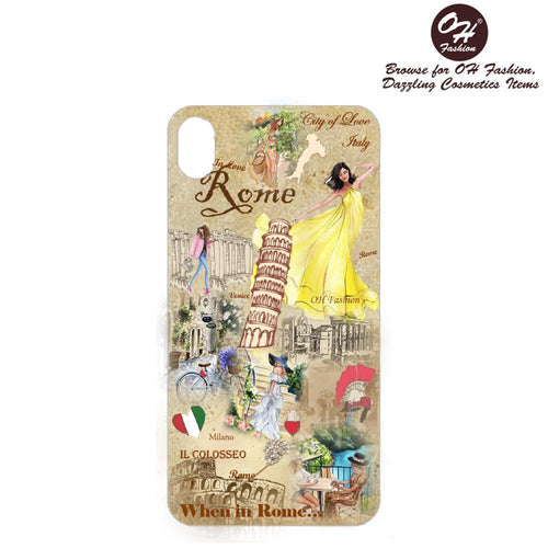 OH Fashion iPhone case X / XS When in Rome - superfashionwholesaler