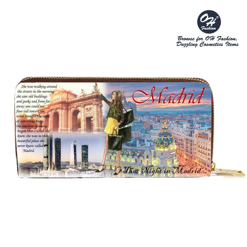 OH Fashion Wonderful Madrid Wallet - superfashionwholesaler