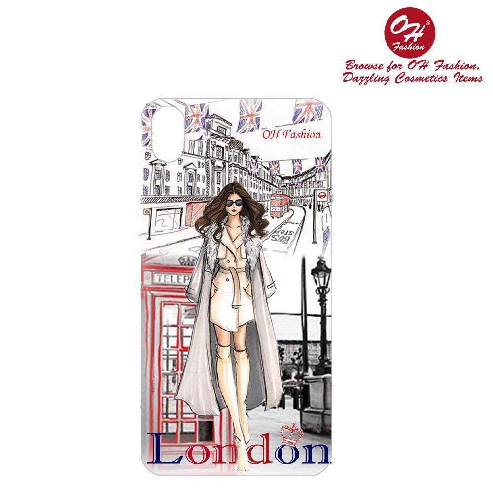 OH Fashion iPhone case X / XS Adventurous London - superfashionwholesaler