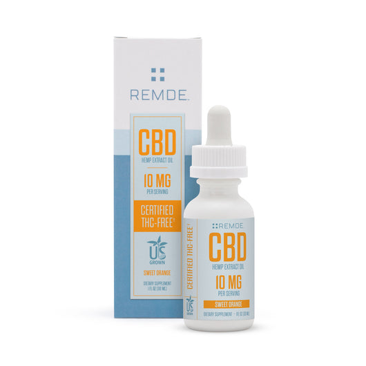 Certified THC-Free 10MG Per Serving CBD Oil