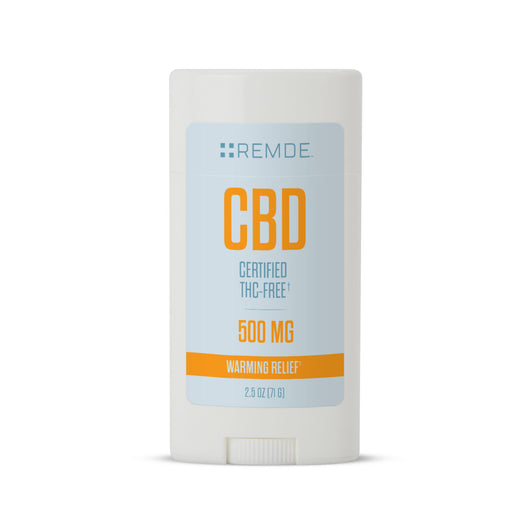 CBD Warming Balm Oval Stick (500 mg) (2.50 oz)