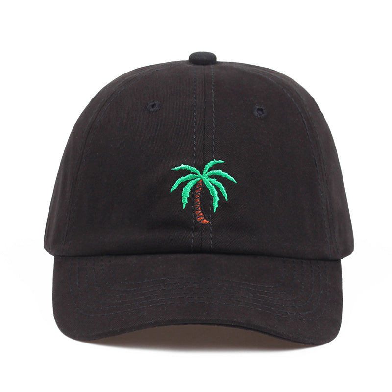 The Black Palm Tree Hat - Hat | Club Xavier