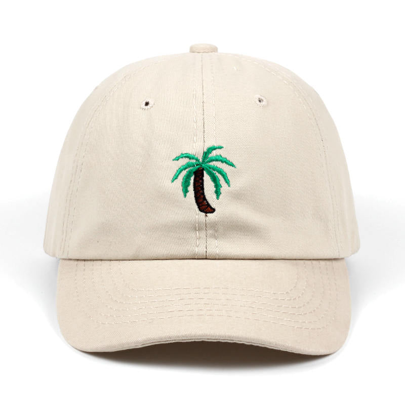The Beige Palm Tree Hat - Hat | Club Xavier