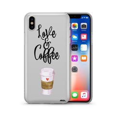 Love and Coffee Phone Case -  | Club Xavier