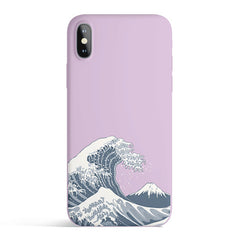 Japan Waves Matte Case Cover - Accessories | Club Xavier