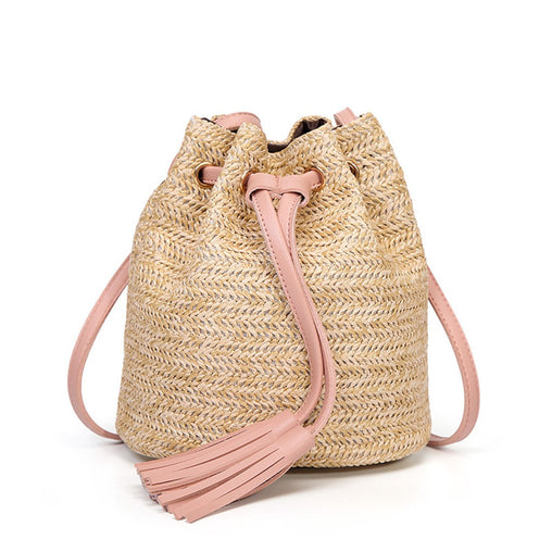 Rattan Bucket Bag - Accessories | Club Xavier