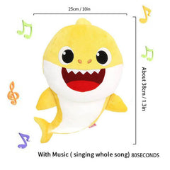 Baby Shark With Music Plush Toy -  | Club Xavier