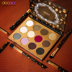 Goth 12 Colors Eyeshadow Palettes -  | Club Xavier