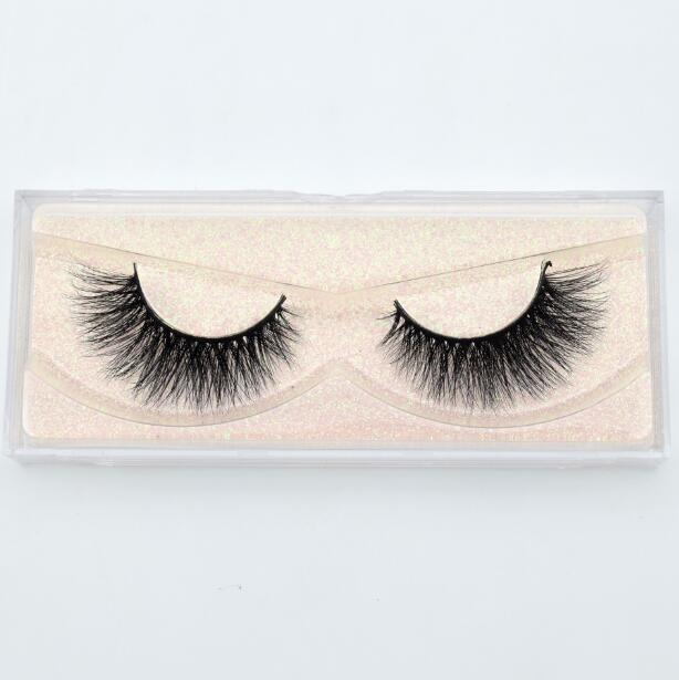 Simple Faux Mink classic lashes E05 -  | Club Xavier