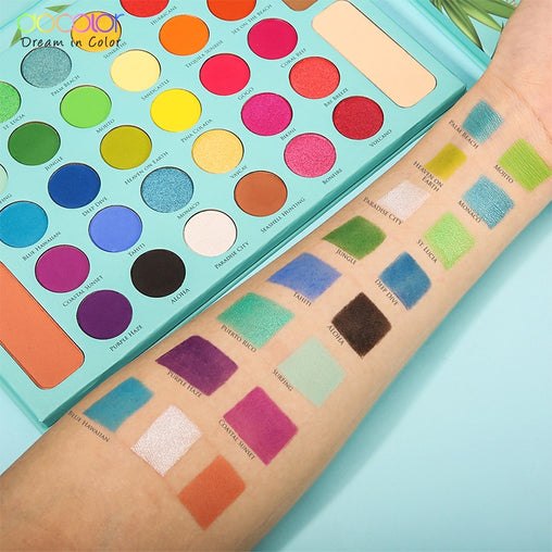 Tropical 34 Color Professional Eyeshadow Palettes -  | Club Xavier