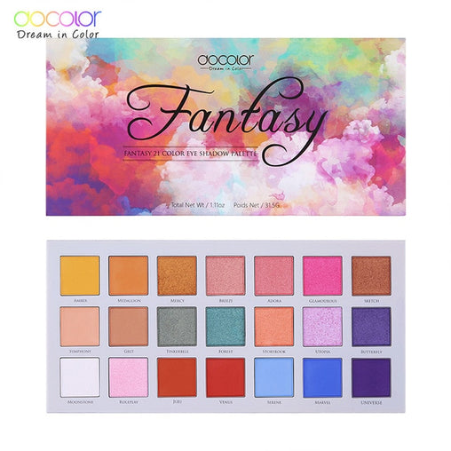 Fantasy 21 Color Eyeshadow Palettes -  | Club Xavier