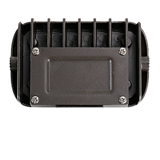 LED Mini Flood Light 15W 3000K Bronze with Knuckle Mount